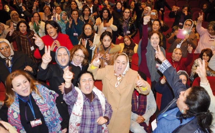 Les femmes ittihadies appellent à la mise en place d'une Constitution démocratique consacrant l'égalité pleine et entière entre les deux sexes