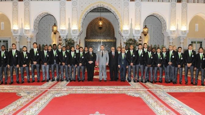Réception Royale pour le Raja