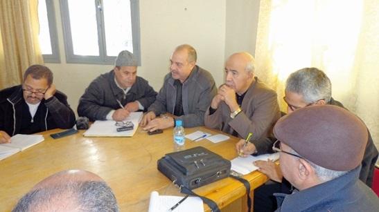 Abdelmakssoud Rachdi au conseil provincial de Youssoufia