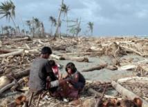 Le pire des typhons s'abat sur l'archipel  des Philippines
