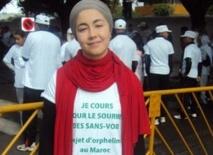 Kenza Isnasni porte le flambeau de la paix et de la tolérance