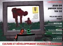 Culture et développement durable en Afrique