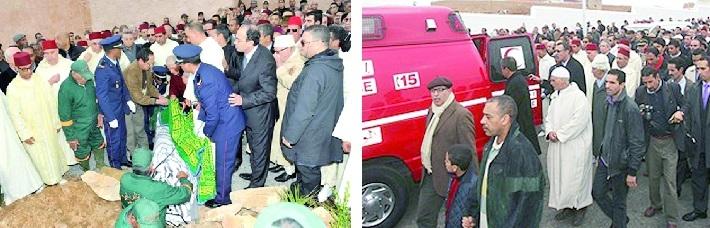 Reportage : A Rabat, les obsèques de Hassan Amrani rassemblent majorité et opposition