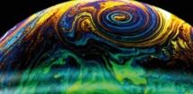 Observer les bulles de savon pour  prévoir l'intensité des typhons