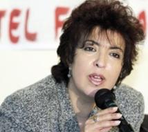 Fouzia Assouli, présidente de la Fédération de la Ligue démocratique des droits des femmes