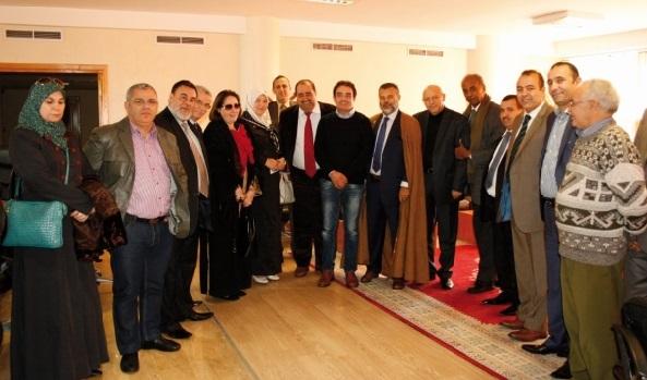 Lachguar reçoit une délégation algérienne
