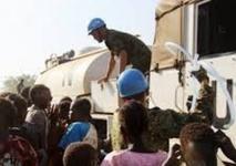 Nouveaux Casques bleus  au Soudan du Sud