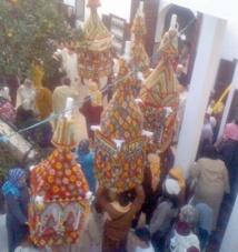 Procession des cierges à Salé