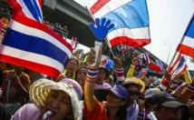 Manifestation de l'opposition en Thaïlande