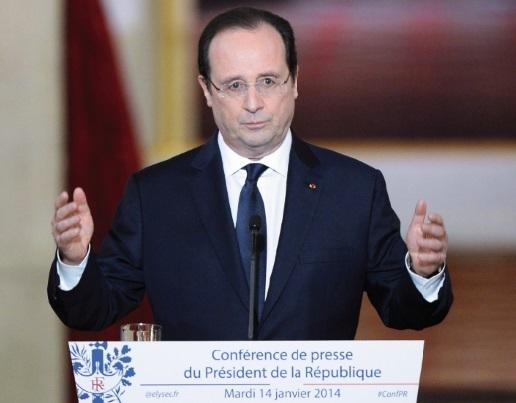François Hollande pour un nouveau chapitre  du quinquennat