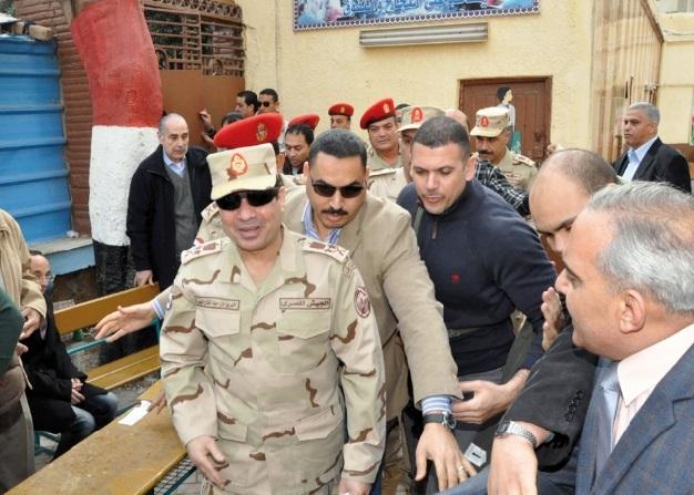 """Triomphe attendu du """"oui"""" au  référendum constitutionnel en Egypte"""