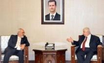 Ballet diplomatique axé sur la situation en Syrie