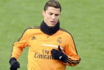 Ronaldo fête son trophée