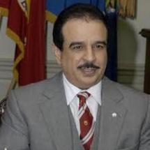 Le Souverain de Bahreïn reçoit le général de corps d'armée Abdelaziz Bennani