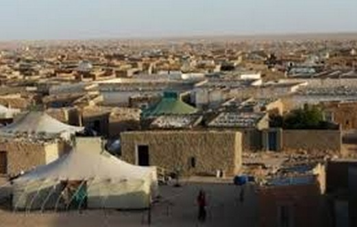 De jeunes Sahraouis érigent un camp de protestation contre le Polisario