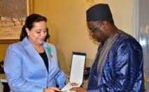 Bensaleh décorée à Dakar par le président sénégalais