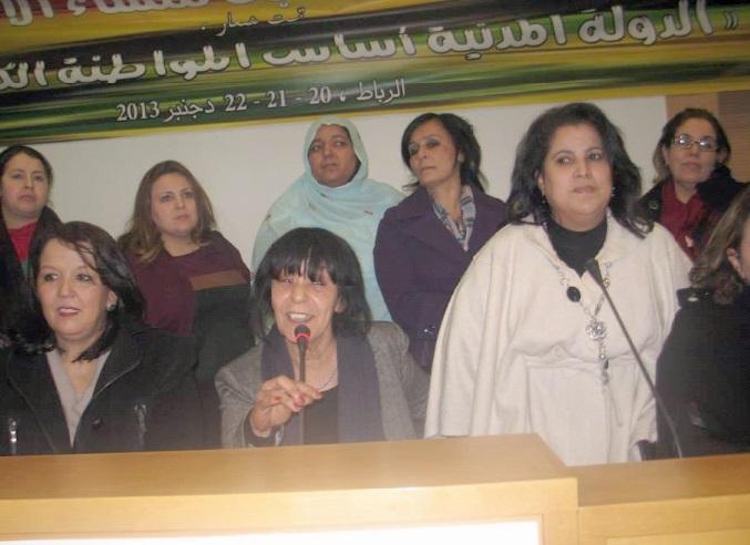 A la tête de l'organisation des femmes ittihadies,  Khadouj Slassi se donne 100 jours pour convaincre