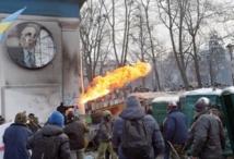 Entrée en vigueur des lois contre les manifestants en Ukraine