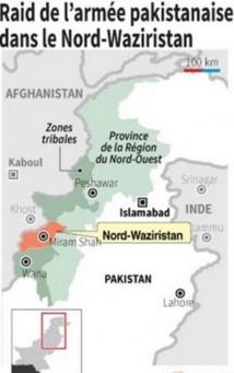 Raid de l'aviation pakistanaise contre un fief taliban