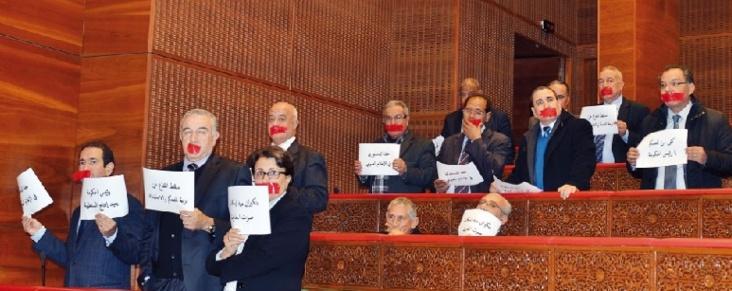Conseillers bâillonnés, lettre de protestation de Biadillah et silence des Sages