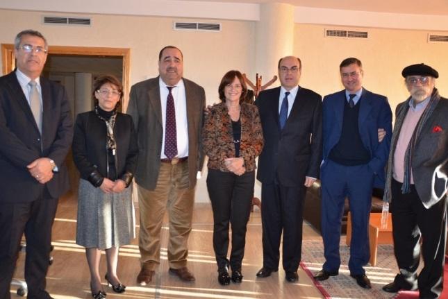 Driss Lachguar reçoit une délégation parlementaire d'Argentine