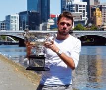 Stanislas Wawrinka enfin sacré en Grand Chelem à Melbourne