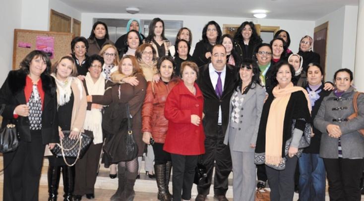 Driss Lachguar reçoit les membres du secrétariat national de  l'Organisation des femmes ittihadies