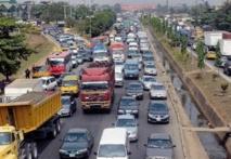 L'enfer des embouteillages de Lagos
