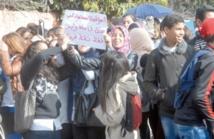 Indignation des élèves contre le nouveau système Massar