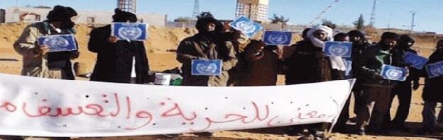 Les Rguibat Souaâd  dénoncent la répression dans les camps de Tindouf