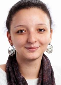 Najlaa Khattabi, présidente de l'AMGE-Caravane