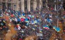 La rue tient à ses revendications  en Ukraine