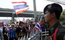 L'opposition maintient la pression sur le gouvernement en Thaïlande