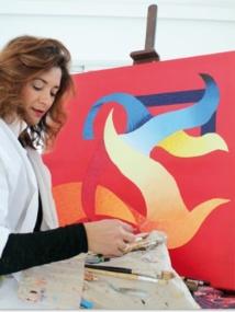 Mounia Boutaleb expose à la galerie Mine d'Art de Casablanca