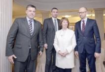 Ashton à Kiev pour s'entretenir avec Ianoukovitch