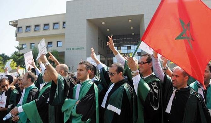 Les magistrats maintiennent leur sit-in en dépit des manœuvres de Ramid