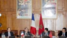 Réunion maroco-française à Rabat