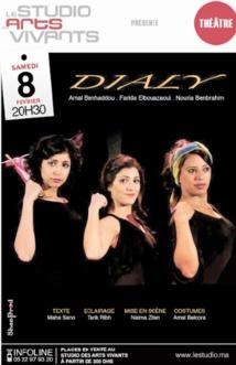 """""""Dialy"""" au Studio  des arts vivants"""
