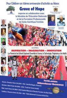 Nouvelle tournée au Maroc de la Fondation américaine Grove of Hope