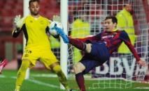 Messi émerge du déluge, le Barça surnage