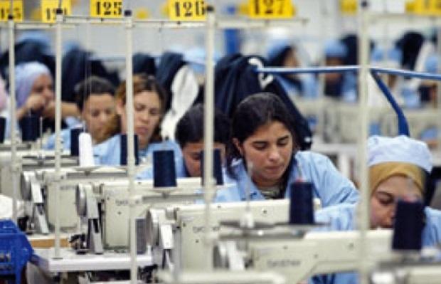Essoufflement des exportations de textiles