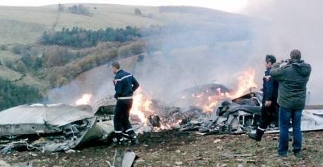 Crash d'un avion militaire algérien