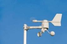 Création de deux stations  de mesure de la vitesse du vent
