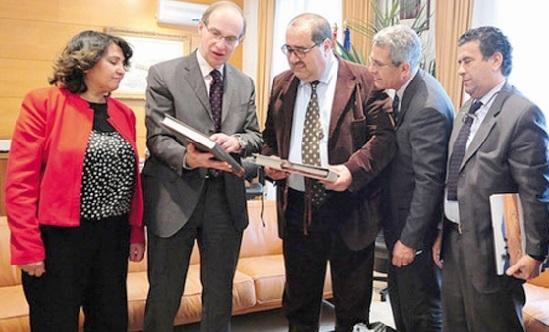 Entretiens entre Driss Lachguar et le président du Parlement régional de La Cantabrie