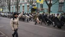 L'opposition évacue  la mairie de Kiev