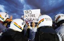 La Fifa favorable à ce que la police  contrôle les manifestations