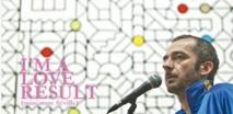 Arnaud Saury à l'Institut français de Casablanca pour la Saint-Valentin