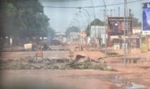 Tirs nourris et explosions  à l'aéroport de Bangui