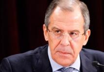 Visite en Irak du chef  de la diplomatie russe