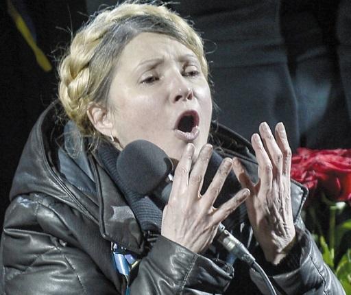 Nouvelle ère en Ukraine Timochenko libérée Ianoukovitch  introuvable